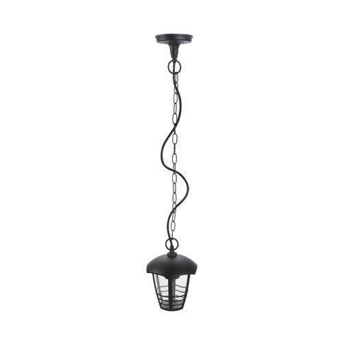 Zewnętrzna LAMPA wisząca MARSELLIE 8620 Rabalux ogrodowy ZWIS metalowy na taras IP44 outdoor czarny (5998250386201)