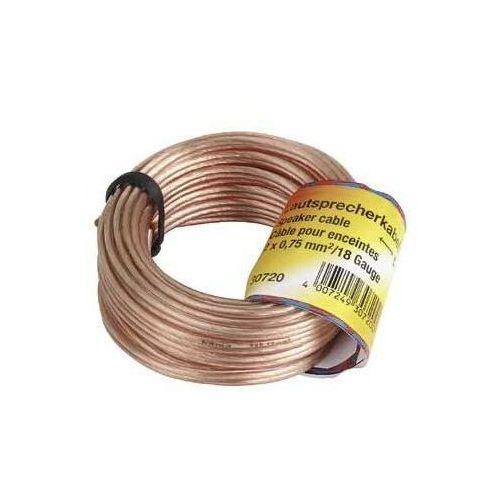 Hama Kabel głośnikowy 2x 0.75 mm 10 m