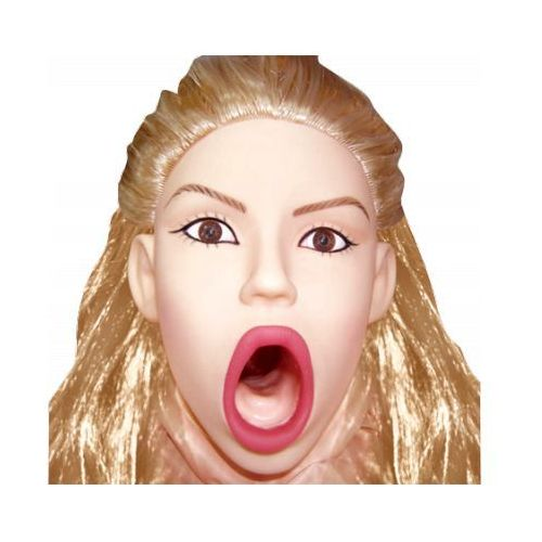 Topco sales Realistyczna dmuchana lalka miłości young and hot twarz i biust 3d naturalne włosy wagina z cyberskóry 1002018