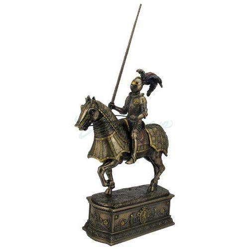 Rycerz na koniu na postumencie (wu76343a4) marki Veronese