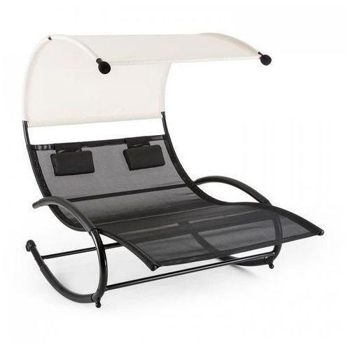 Blumfeldt suncruise leżak bujany leżak ogrodowy daszek przeciwsłoneczny poilester stal (4260457480299)