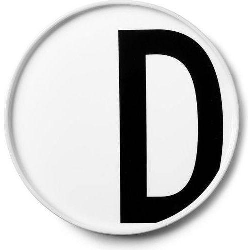 Talerz porcelanowy AJ litera D (5710498720377)