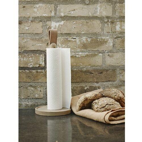 Stojak na ręczniki papierowe Norr drewno naturalne, S1930239