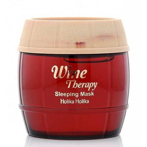 Holika Holika Wine Therapy maseczka na noc przeciw zmarszczkom (Red Wine) 120 ml (8806334338572)