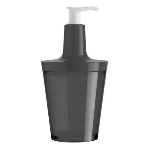 - dozownik do mydła flow czarny 5879526 marki Koziol