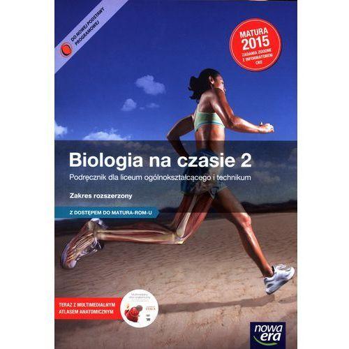Biologia na czasie LO kl.2 podręcznik / zakres rozszerzony, rok wydania (2014)
