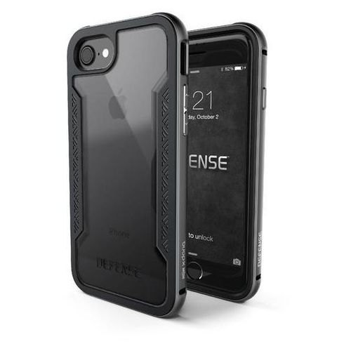 X-doria defense shield - etui aluminiowe iphone 7 (space grey) (6950941449373)