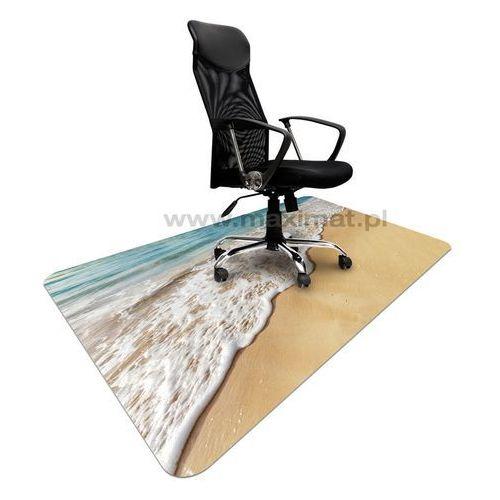 Maximat Podkładka ochronna ze wzorem morze 012 - pod krzesło - 120x180cm - grubość. 1,3mm