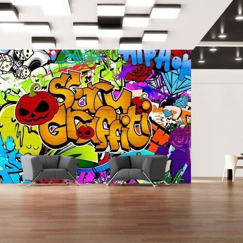 Fototapeta - scary graffiti
