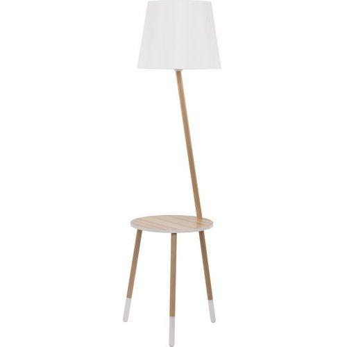 Tk lighting Lampa podłogowa lama 1xe27/60w/230v biały (5901780528621)
