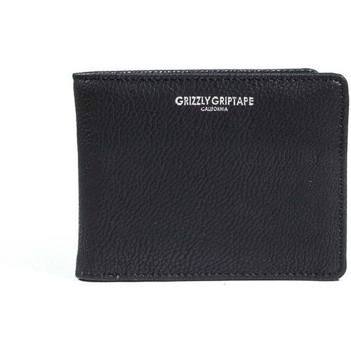 portfel GRIZZLY - Pebbled Pu Leather Bifold Blk (BLK) rozmiar: OS