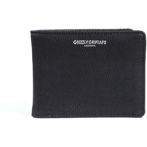 Portfel - pebbled pu leather bifold blk (blk) rozmiar: os marki Grizzly