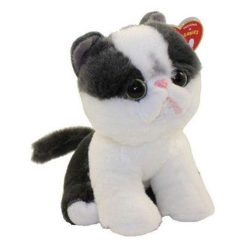 Ty inc Maskotka beanie babies yang - czarno-biały kotek 15cm 42273 (0008421422739)