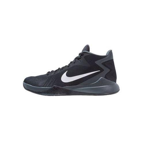 Nike Performance ZOOM EVIDENCE Obuwie do koszykówki black/metallic silver/white/wolf grey
