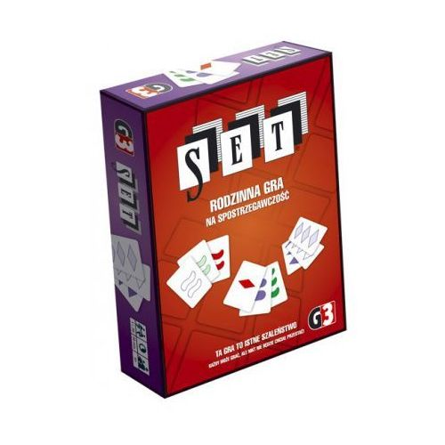 SET - rodzinna gra karciana, kup u jednego z partnerów