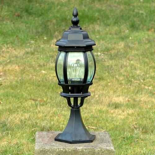 Brilliant Istria zewnętrzna lampa słupek Czarny, 1-punktowy - Klasyczny - Obszar zewnętrzny - Istria - Czas dostawy: od 4-8 dni roboczych