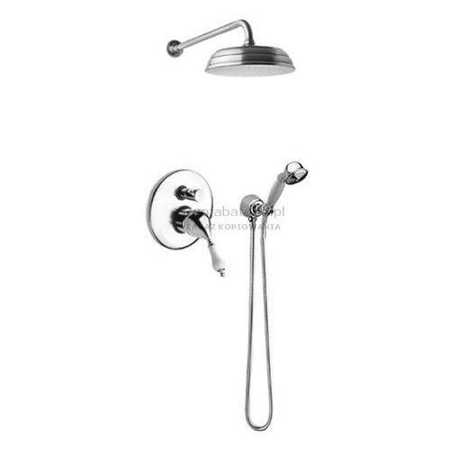 Fromac Retro Etros kompletny zestaw prysznicowy deszczownica słuchawka retro 3852