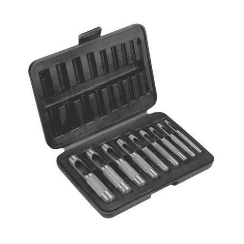 Zestaw wycinaków do otworów TOPEX 03A490 3 - 12 mm (9 elementów) (5902062031761)