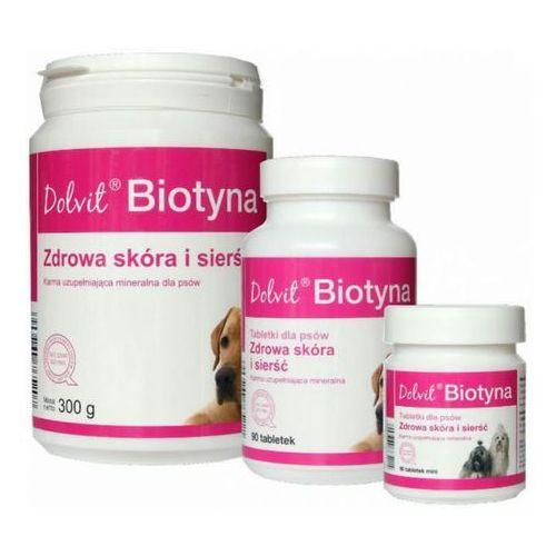dolvit biotyna zdrowa skóra i sierść tabletki dla psów op.90tabl.-1kg marki Dolfos