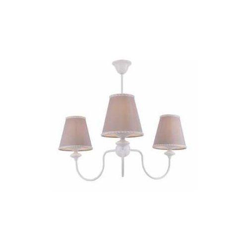 Aldex rafaello ii 1025e lampa wisząca zwis 3x40w e14 biały/beżowy (5904798650131)