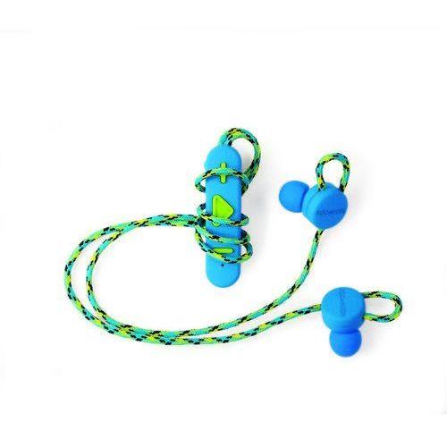 BOOMPODS Retrobuds Słuchawki douszne BT z klipsem niebieskie