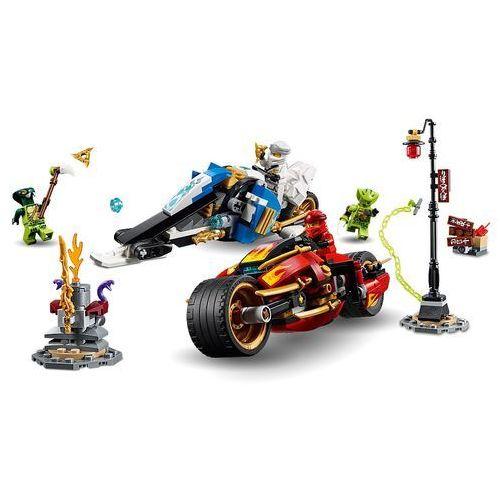 70667 MOTOCYKL KAIA I SKUTER ZANE'A (Kai's Blade Cycle & Zane's Snowmobile) KLOCKI LEGO NINJAGO