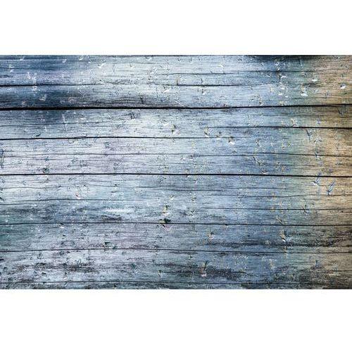 Deco-strefa – dekoracje w dobrym stylu Fototapeta drewno w odcieniach niebieskiej szarości fp 125