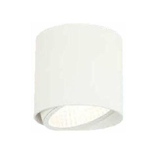 Orlicki design Sufitowa lampa downlight neo bianco mobile metalowa oprawa okrągła spot tuba biała