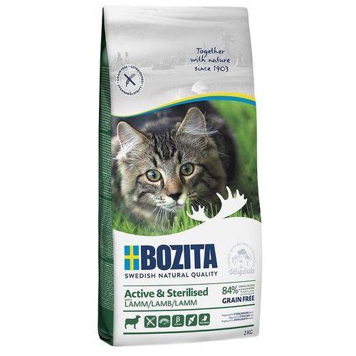 Bozita grainfree active & sterilised, jagnięcina (bez zbóż) - 10 kg| dostawa gratis + promocje| -5% rabat dla nowych klientów (7311030313316)