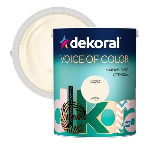 Farba Dekoral Voice of Color kwitnąca magnolia 5 l (5904000031352)