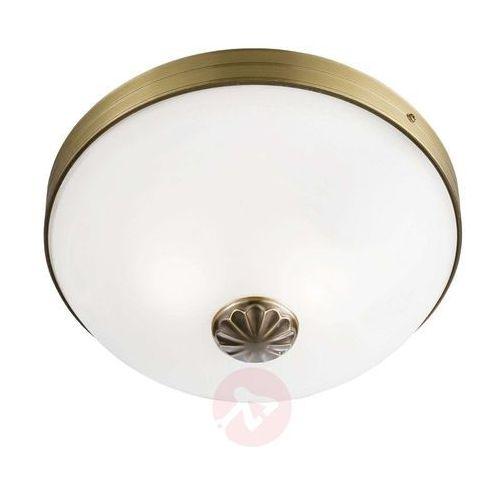 WINDSOR piękna lampa sufitowa z białym kloszem