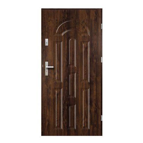 Drzwi zewnętrzne azzuro 90 prawe orzech marki O.k.doors