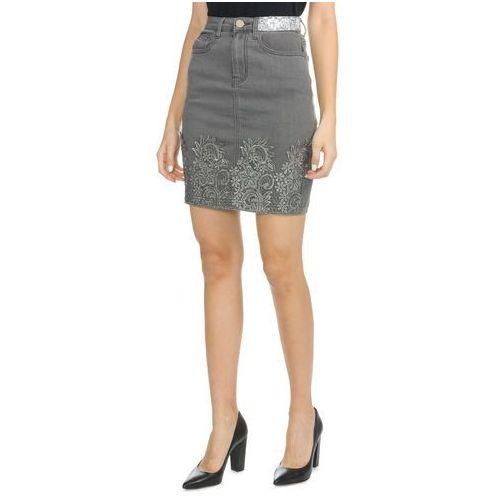 Desigual cecile skirt szary 24