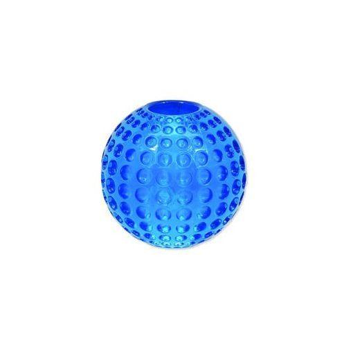 Zabawka DOG FANTASY Strong piłeczka gumowa z wgłębieniami niebieska 6,3 cm, 454-30306
