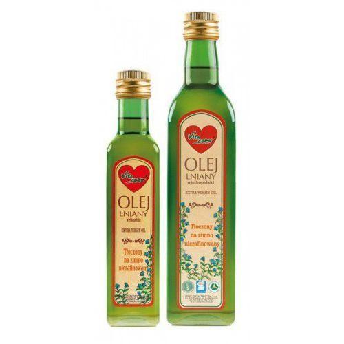 VitaCorn - Olej lniany wielkopolski 500ml, produkt z kategorii- Pozostałe leki chorób serca i układu krążenia
