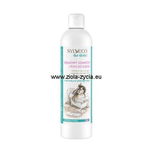 Kremowy szampon i płyn do kąpieli - marki Sylveco