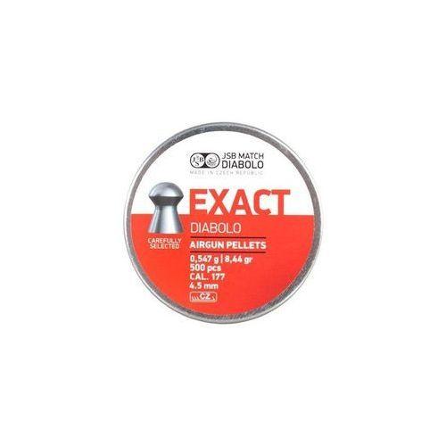 Jsb / czechy Śrut 4,5 mm jsb exact 500 szt. + darmowy zwrot (ex450)