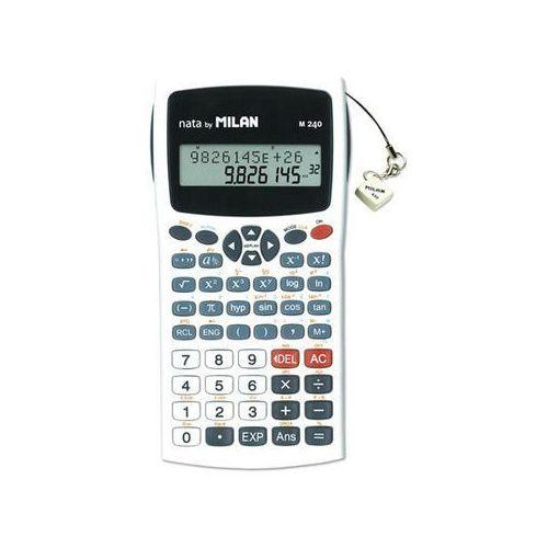 Kalkulator naukowy 240 funkcji biały marki Milan
