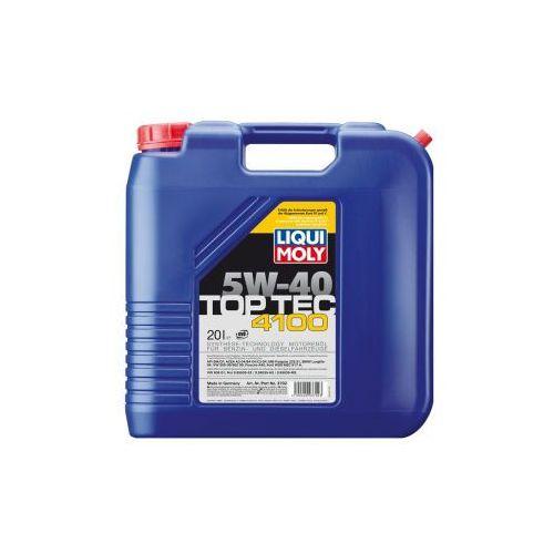 Liqui Moly TOP TEC 4100 5W-40 20 Litr Kanister