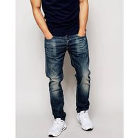 G-Star Jeans 3301 Slim Fit Blue Delm Stretch Mid Wash - Blue, jeans