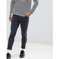 Pull&Bear Carrot Fit Trousers In Black - Black