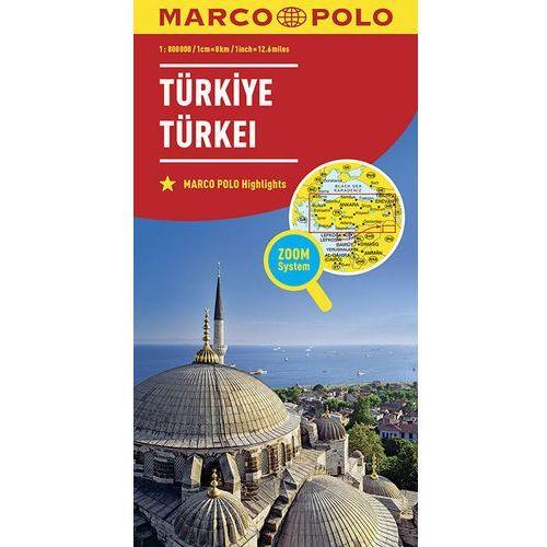 Marco Polo Mapa Samochodowa Turcja 1:800 000 Zoom (9783829738477)