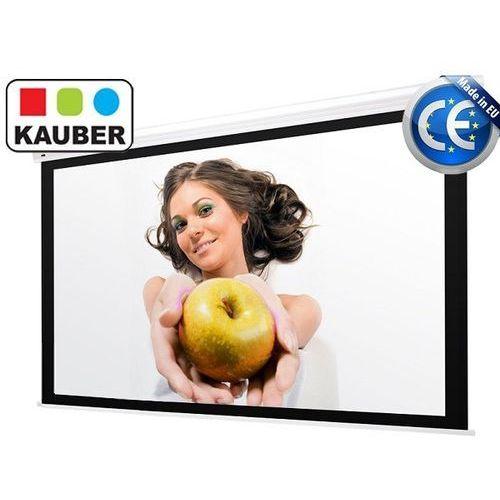 Kauber Ekran elektryczny white label 200 x 150 cm 4:3