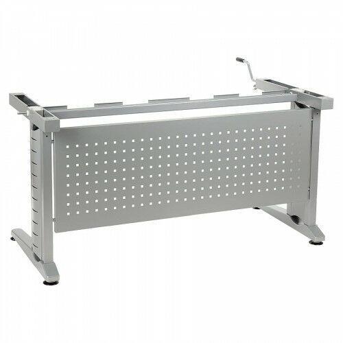 Stelaż biurka regulowany na wysokość za pomocą korbki - 2 długości - CK-UD