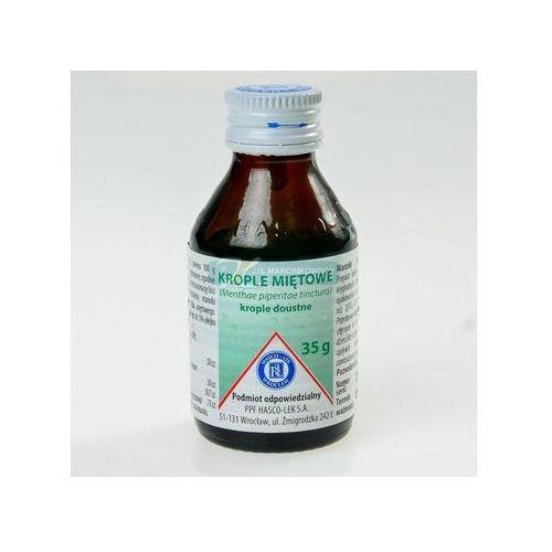 Krople Tinctura menthae piperitae 35 g (krople miętowe Hasco-Lek)