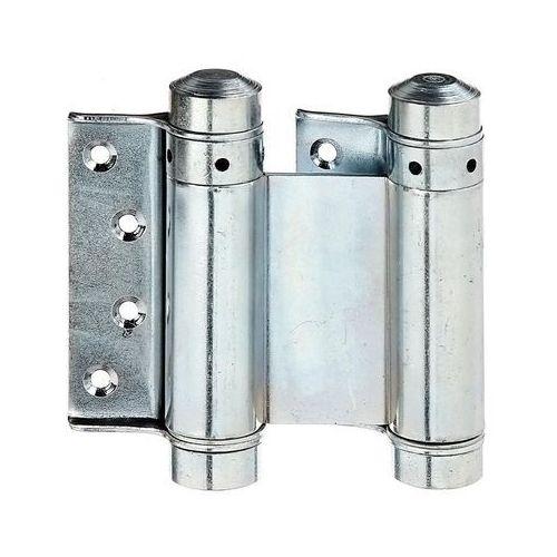 Zawias wahadłowy drzwiowy 76X53MM przykręcany ocynkowany (4004338411664)