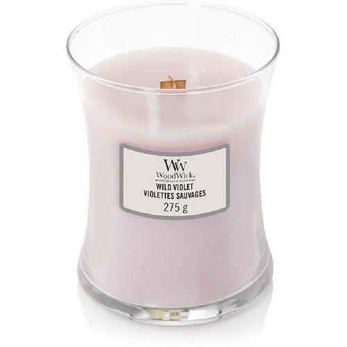 Świeca Core WoodWick Wild Violet średnia (5038581065557)