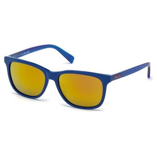 Okulary Słoneczne Just Cavalli JC 671S 90G, kolor żółty