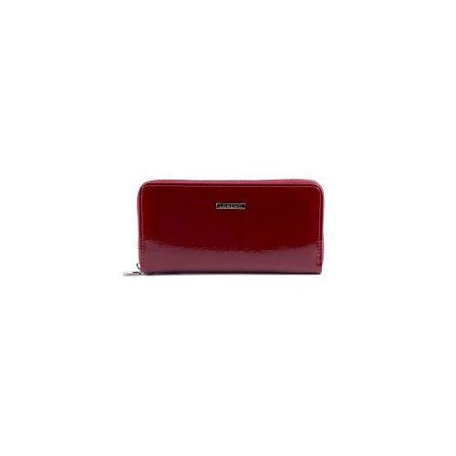 7ed2ed5397336 Czerwony lakierowany portfel Lorenti GF 119- SH R, GF 119-SH RED