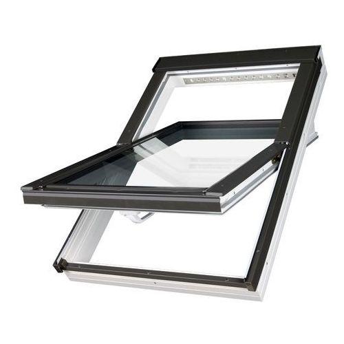 Okno obrotowe ptp-v u3 o podwyższonej odporności na wilgoć - 78x118, złoty dąb marki Fakro